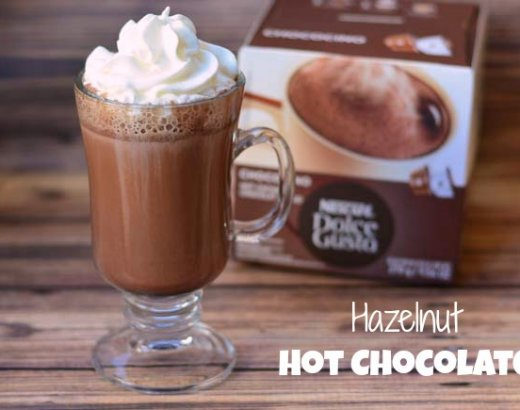 Hazelnut Hot Chocolate with NESCAFÉ Dolce Gusto
