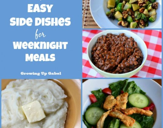 4 Easy Side Dishes for Weekday Meals