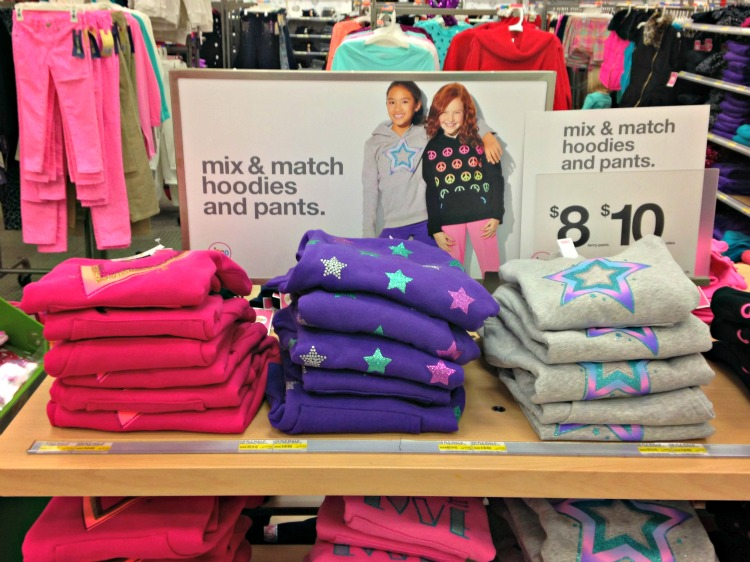 Target Mix and Match Hoodies