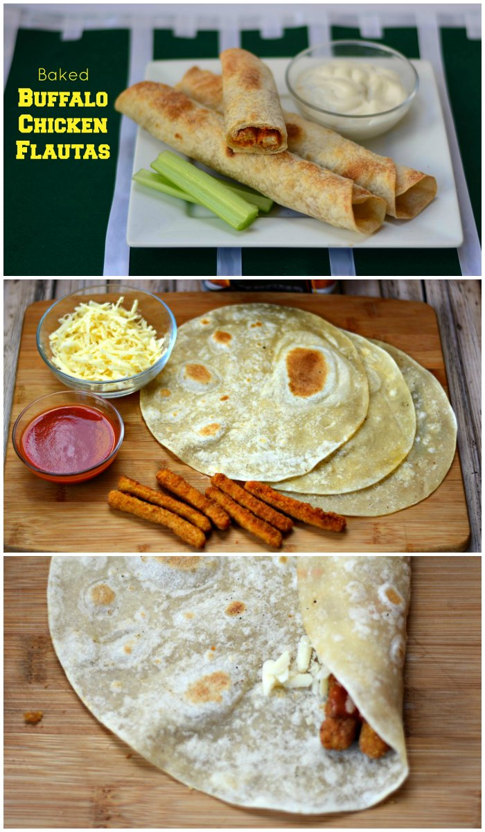 Quick and easy to make buffalo chicken flautas from GrowingUpGabel.com