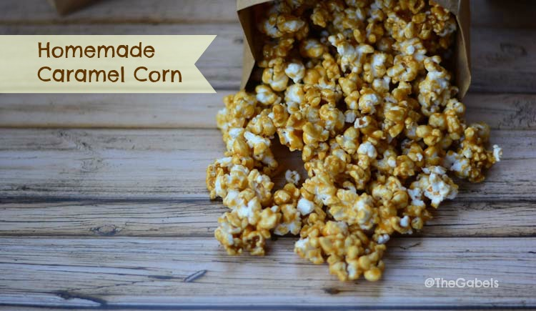 how to make caramel corn with air popper