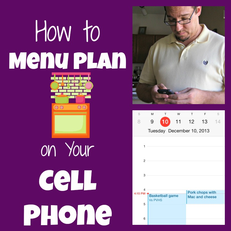mobile menu plan
