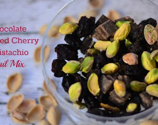 Chocolate Covered Cherry & Pistachios Trail Mix