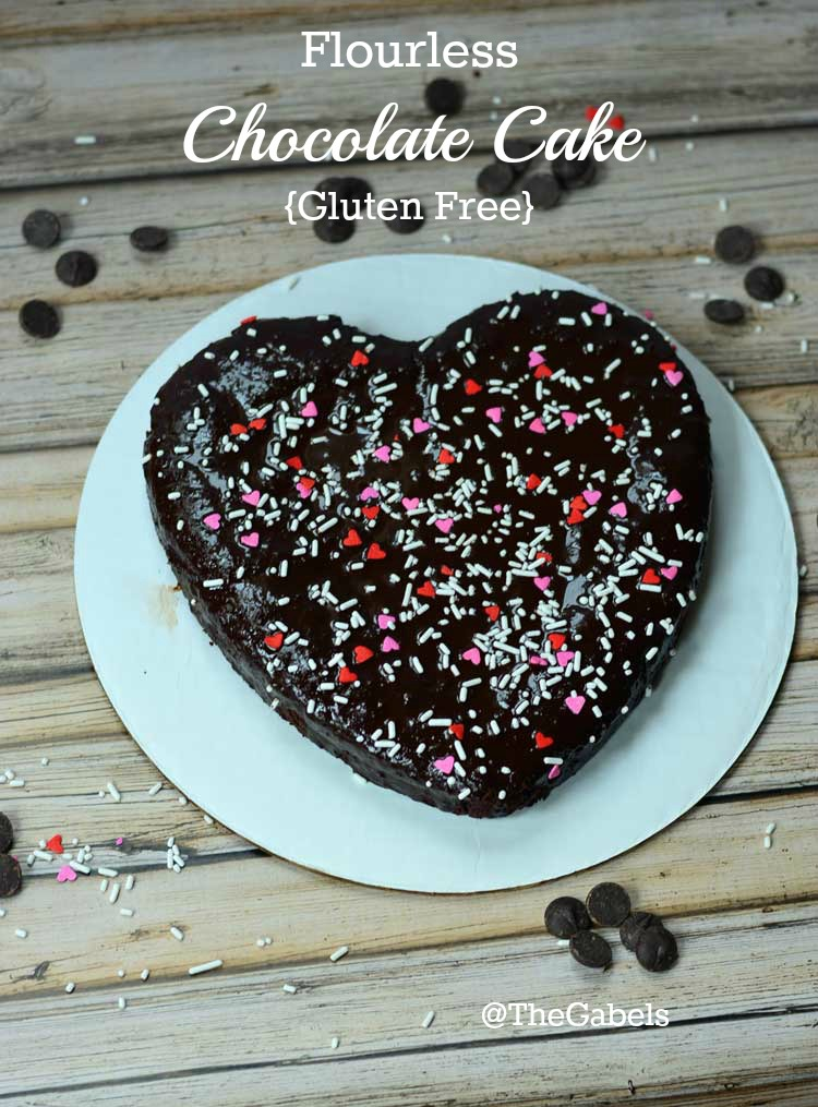 Flourless Chocolate Cake by Growing Up Gabel