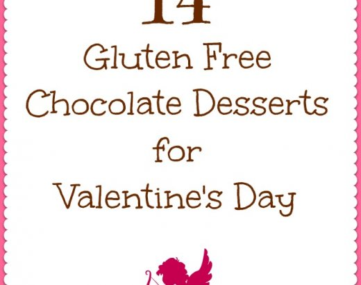 14 Chocolate Gluten Free Desserts for Valentine's Day