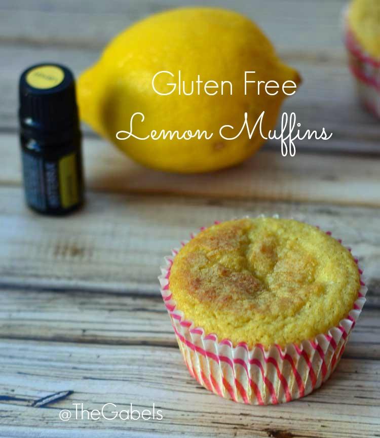 Gluten Free Lemon Muffin