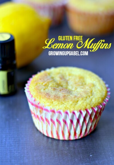 Gluten free and tired of eggs for breakfast? Check out this easy muffin recipe made with essential oils!