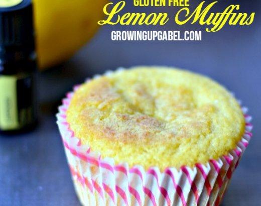 Lemon Gluten Free Muffins