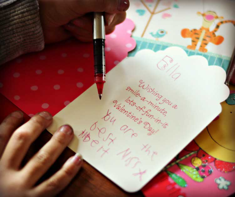 teachers gifts - What To Write On Valentines Card