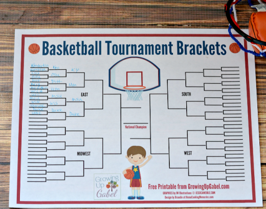 How to Host Family Basketball Tournament Brackets – A Fun Family Tradition