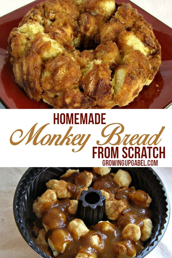 Homemade Monkey Bread from Scratch