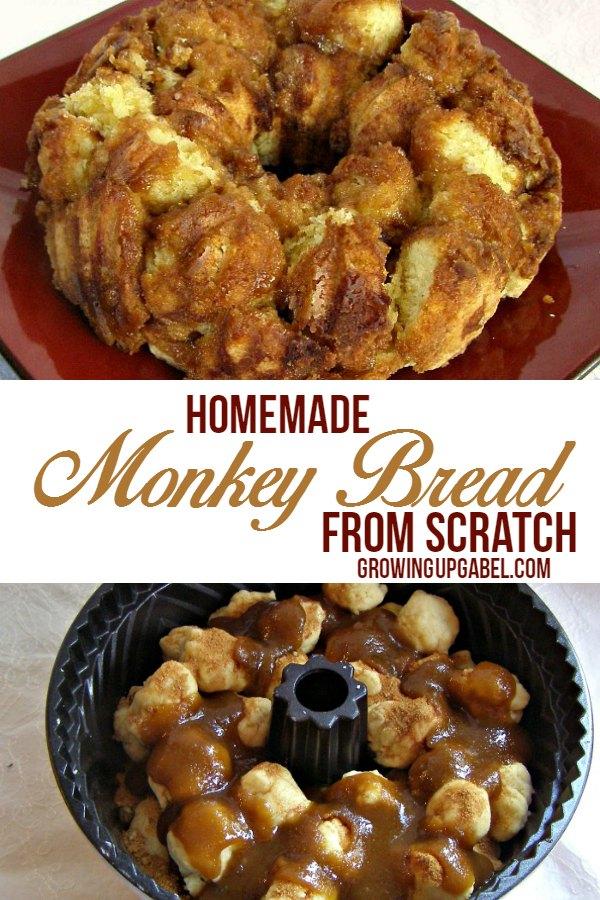 Homemade Monkey Bread from Scratch