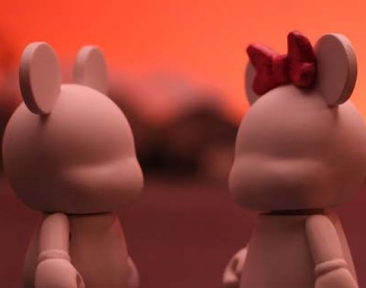 Blank: A Disney Vinylmation Love Story