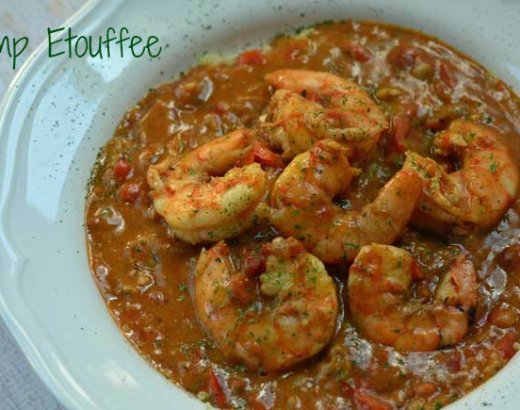 Cajun Shrimp Etouffee Recipe