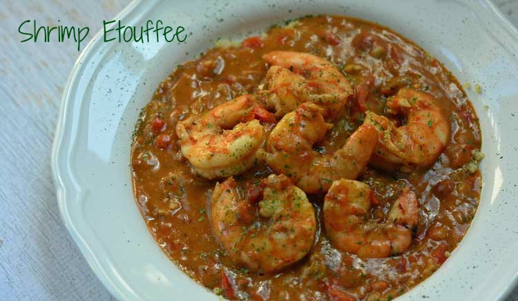 Cajun shrimp etouffee recipe easy shrimp etouffee forumfinder Image collections