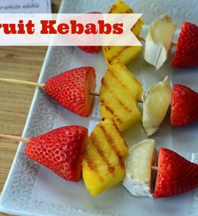 brie fruit kebabs