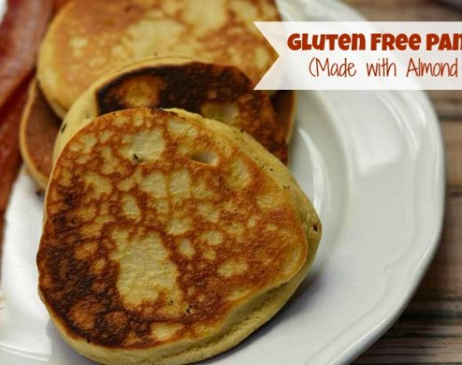 Gluten Free Pancakes Made with Almond Flour