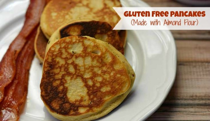 Gluten Free Pancakes Made with Almond Flour