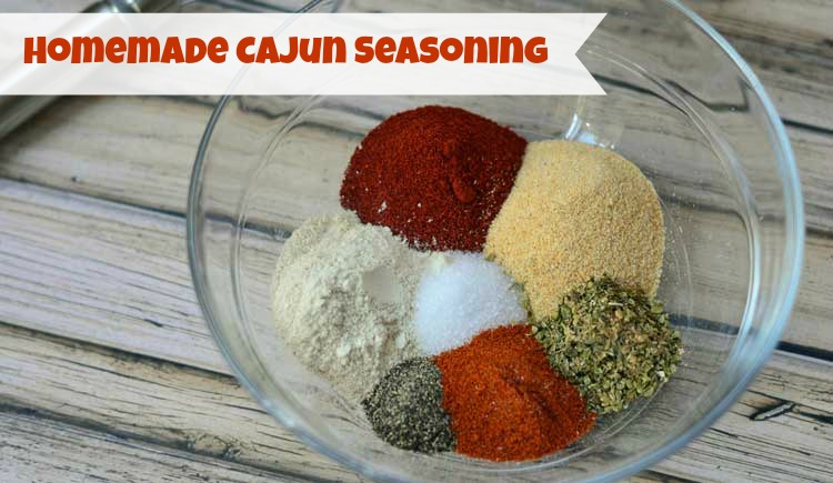 Making homemade spice mixes is easy and saves money! This Cajun seasoning recipe is perfect for adding a little Mardi Gras to your food.