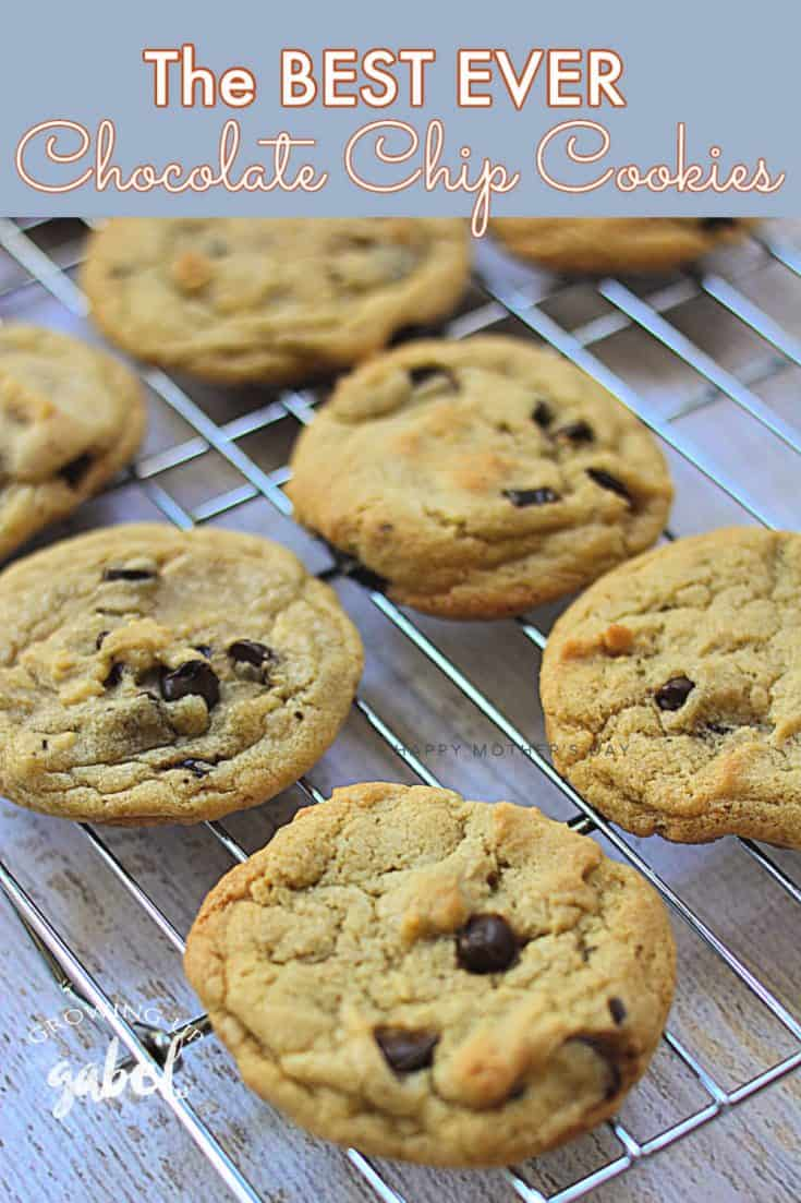 Make perfect chocolate chip cookies with this quick and easy cookie recipe! The trick is in the size of the dough and careful baking.