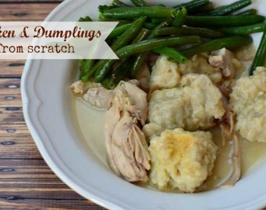 Chicken and Dumplings from Scratch
