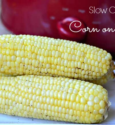Make corn on the cob in a Crock Pot with this easy corn recipe!
