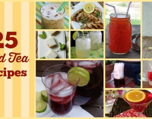 25 Amazing Iced Tea Recipes