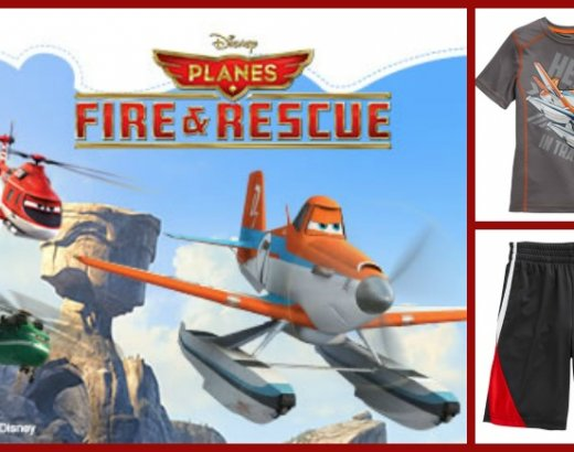 Planes: Fire and Rescue Now at Kohls!