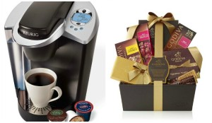 coffee chocolate giveaway collage
