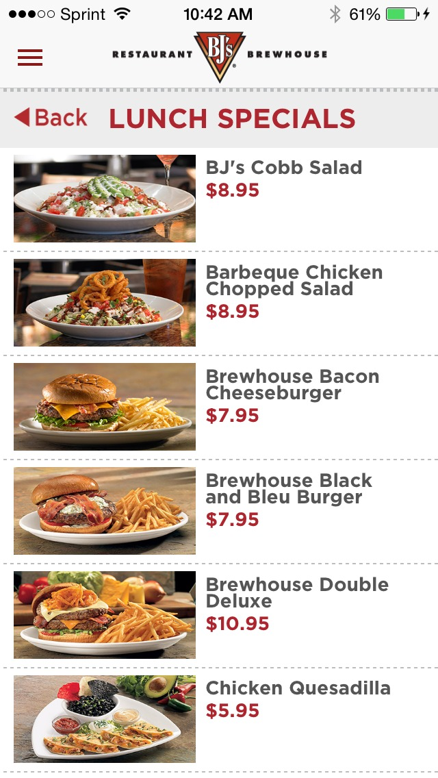 The secret to easy summer meals with bj 39 s restaurant for Lunch specials