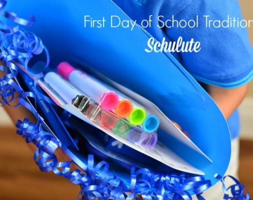 First Day of School Traditions: German Schultute