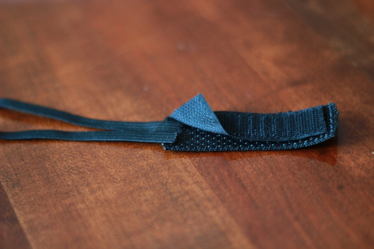 how to make a sleeve scrunchie