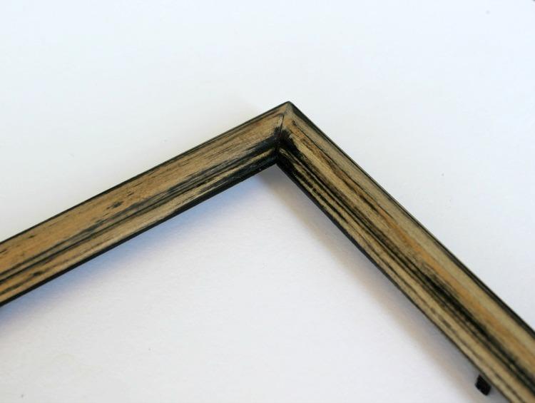 sanded frame
