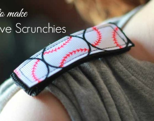 How to Make Sleeve Scrunchies
