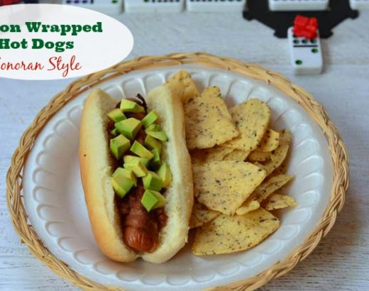 Sonoran Hot Dogs for Mexican Train Dominoes Family Game Night