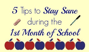 1st month of school slider
