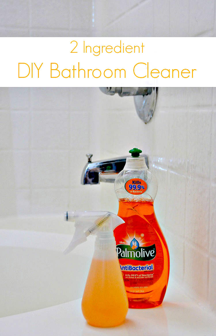 2 Ingredient Palmolive Bathroom Cleaner