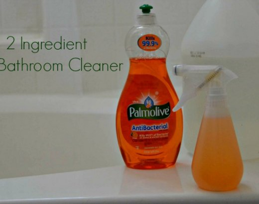How to Make 2 Ingredient DIY Shower Cleaner