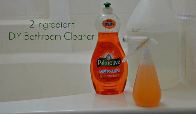 2 Ingredient Palmolive Bathroom Cleaner #Palmolive25Ways #cbias