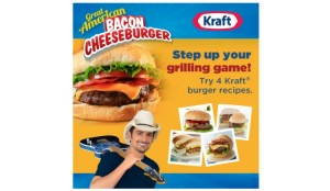 Kraft cheeseburger slider