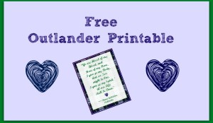 outlander printable slider