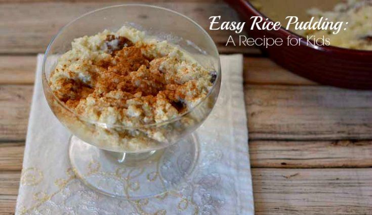 Easy Rice Pudding: A Recipe for Kids