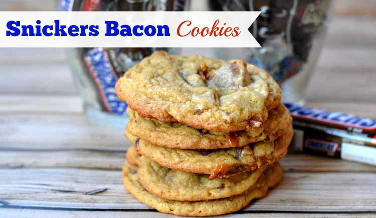 SNICKERS® and Bacon Cookies