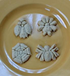 Spritz Pumpkin Cookies