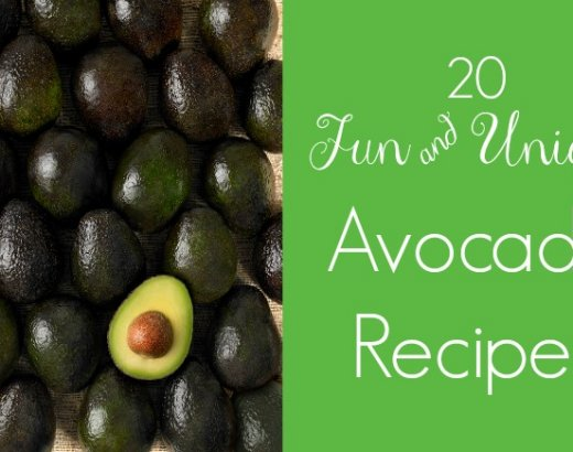20 Unique Hass Avocado Recipes + A Giveaway