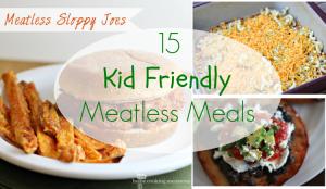 Meatless meals slider