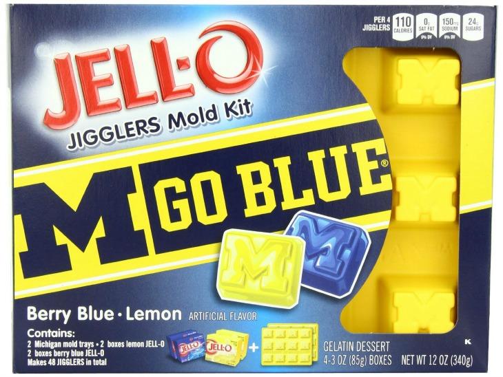 Michigan JellO mold