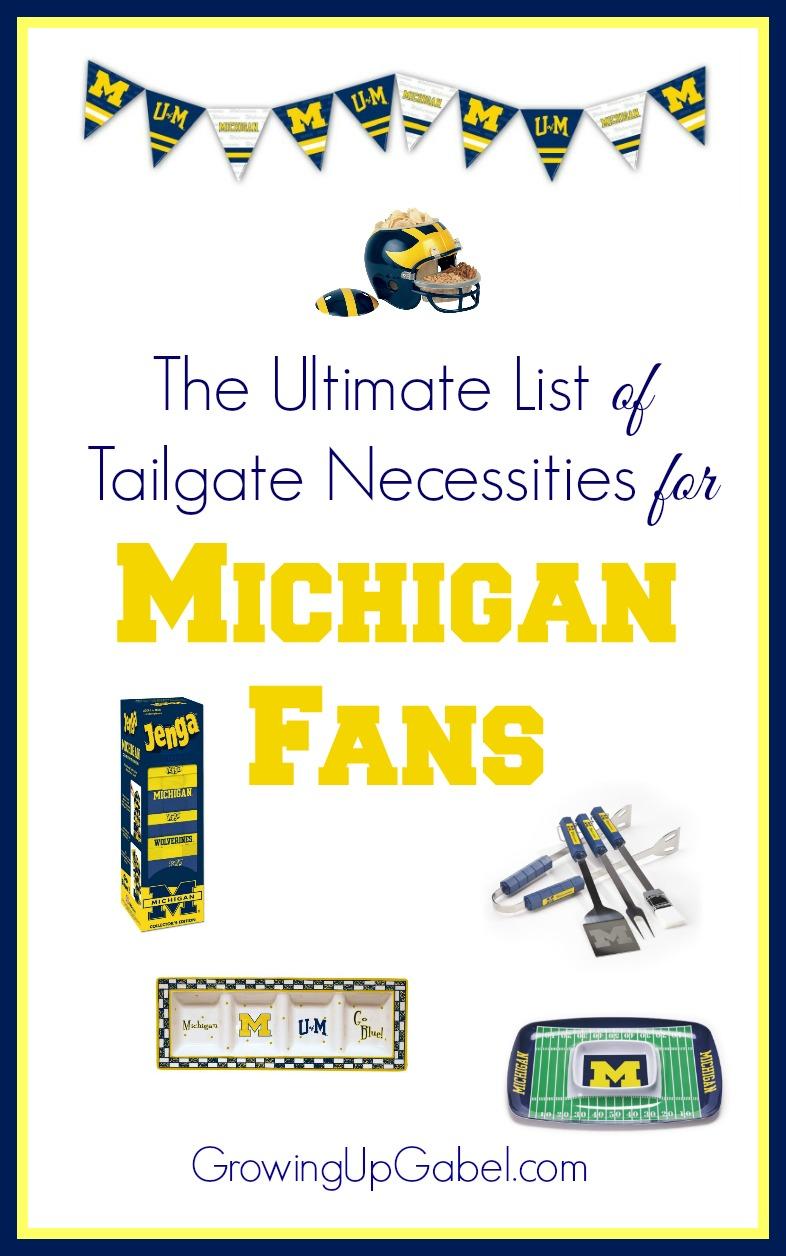 University of Michigan tailgate