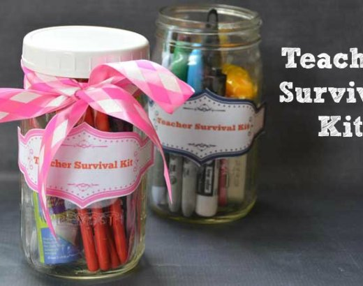 Teacher Survival Kit {Free Printable}