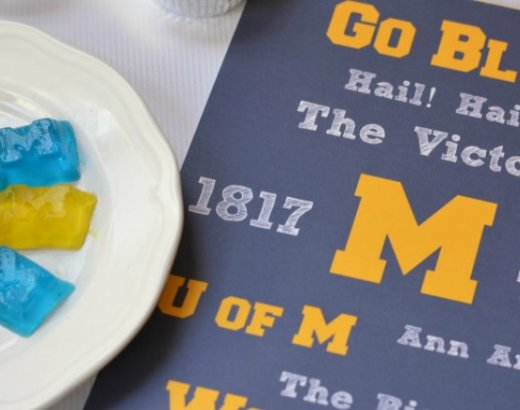 University of Michigan Printable